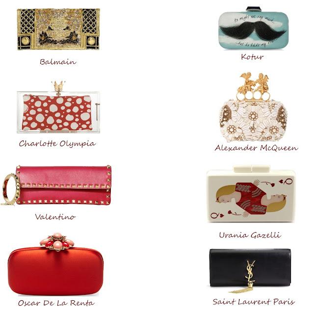 Designer Clutches, Must have handbags, DLF Emporio