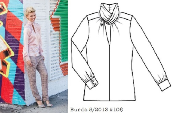 burda-5-2013-#106-blouse