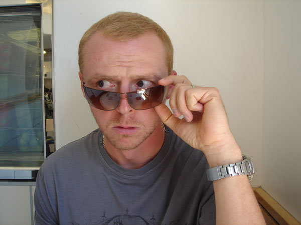 simon pegg sunglasses