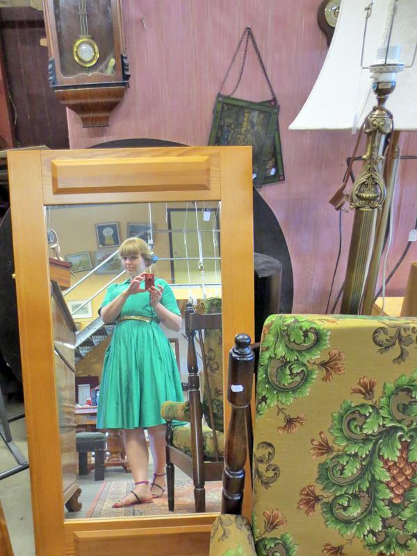 Stina P vintageklänning