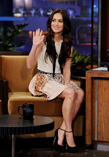 American Actress Megan Fox  Hot Legs images