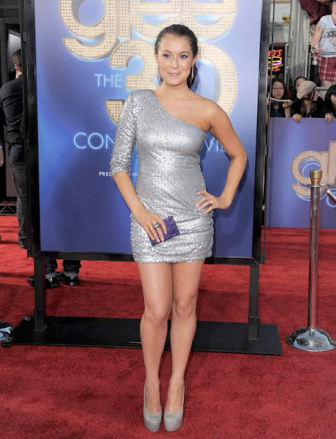 Alexa Vega - Glee 3D Concert Movie premiere in Westwood