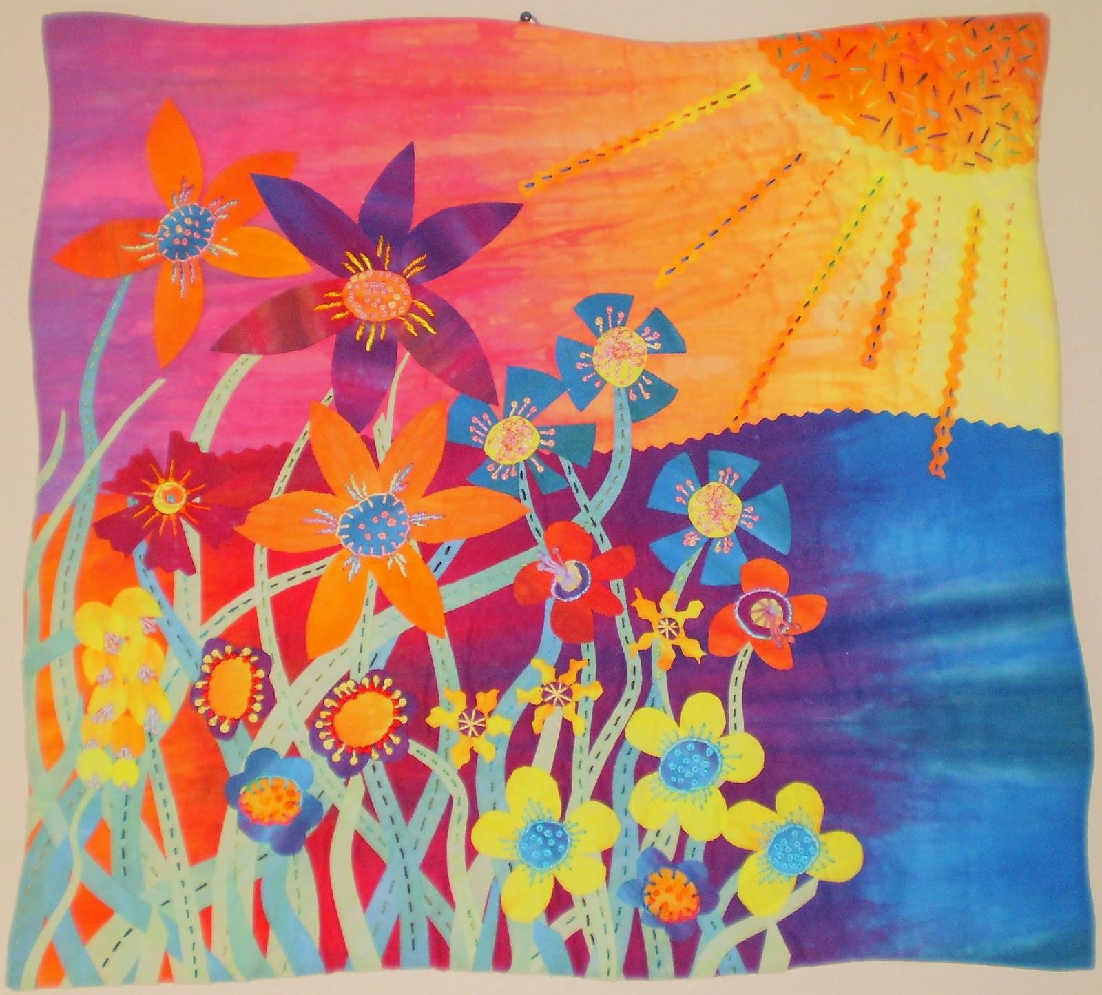 Artfabrik guest artist her garden plus a free pattern for Garden of eden xml design pattern