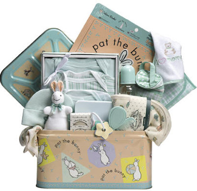 Pat the Bunny baby shower gifts