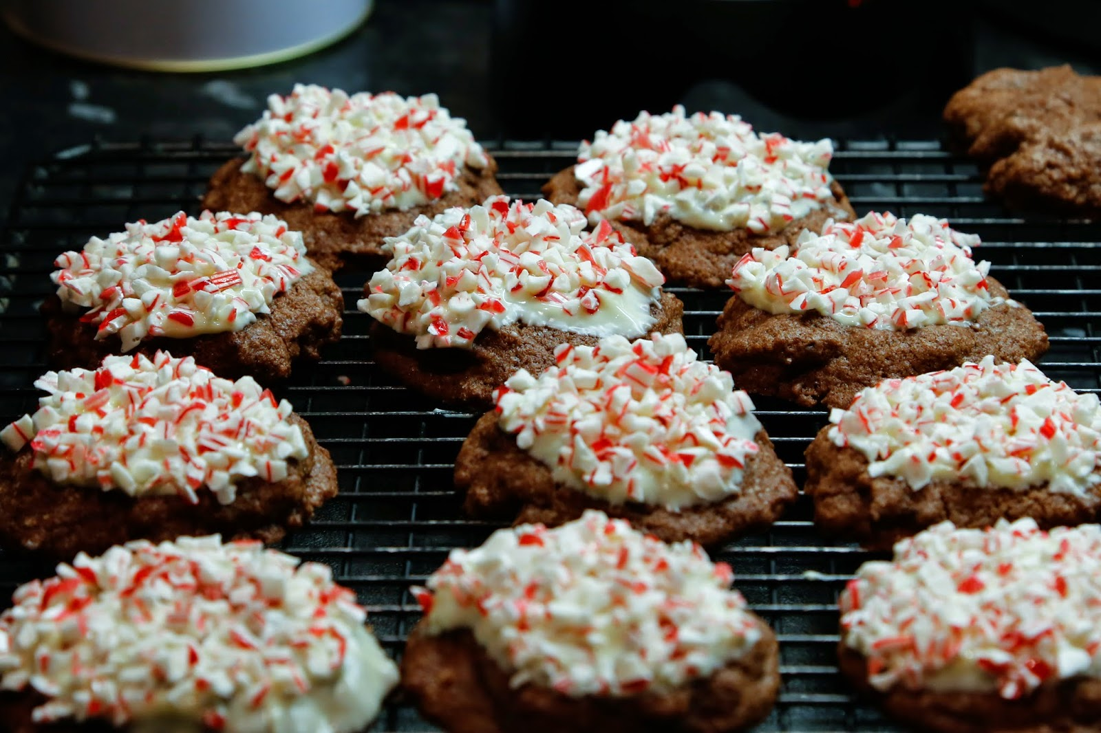 Candy Cane Holiday Crunch Cookies 113 Grams Of Butter