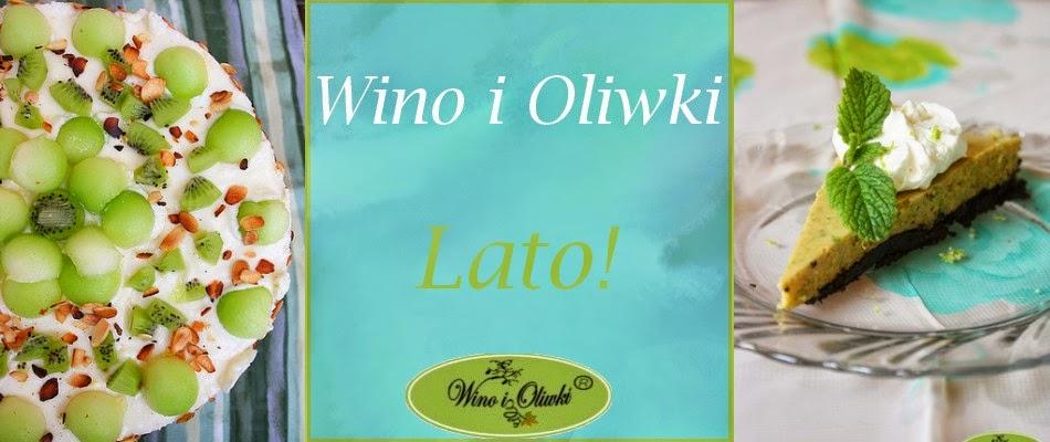 Wino i oliwki... moje kuchenne podboje