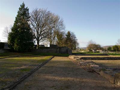 Foro romano (Caerwent) (Gales)