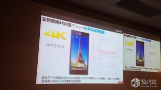 Official photos Sony Xperia i1 Honami will support 4K video recording