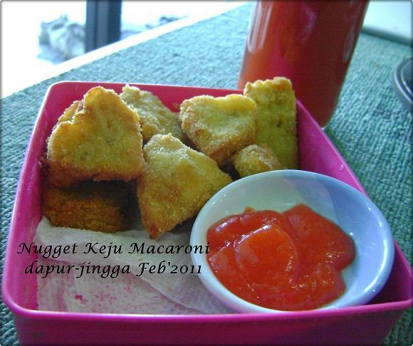 Dapur Jingga: Nugget Keju Macaroni