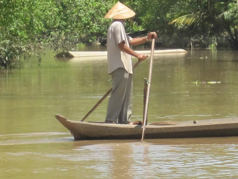 Cruzando el Rio Delta
