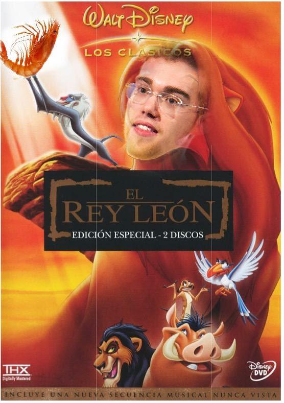 León come gamba demigrante