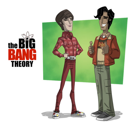 The Big Bang Theory 2 por OtisFrampton