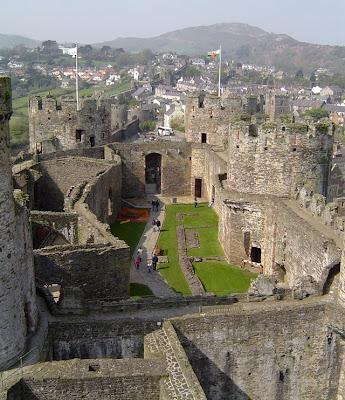 グウィネズのエドワード1世の城郭と市壁の画像 p1_10