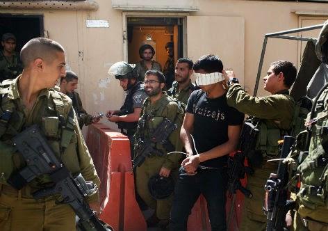 Israel continua e as detenções arbitrárias de palestinos