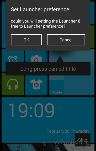 Get Android Look for Your Windows 8 Mobile