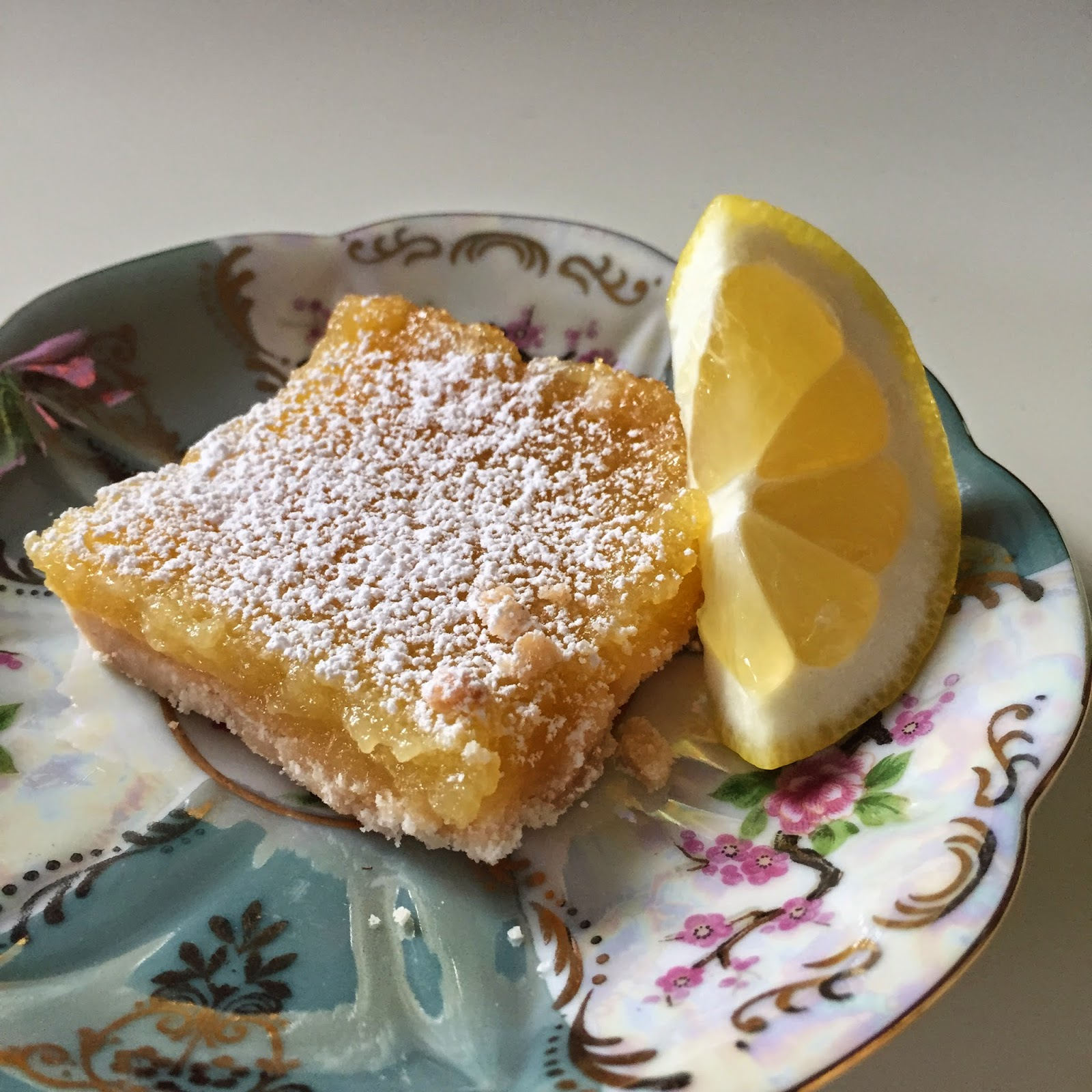 Lemon Bars, Recipe, Dessert, Project Soiree
