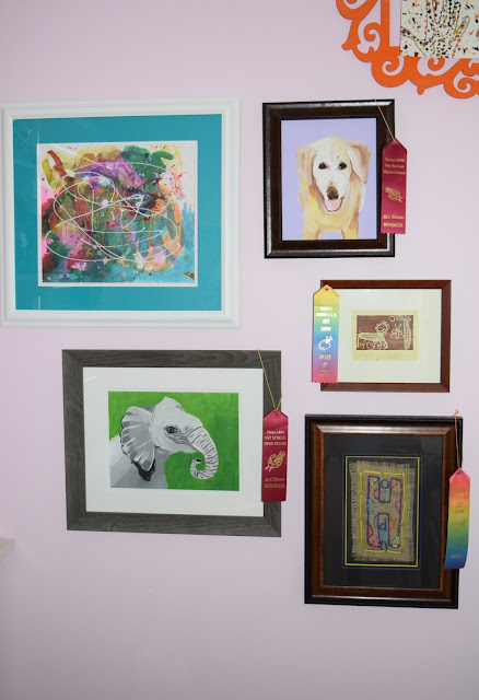 While I'm Waiting...My FAVORITE artist - and five ways to display her artwork