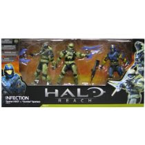 Halo Reach McFarlane Toys Action Figure 3Pack Infection Human Spartan 2x Zombie Spartan