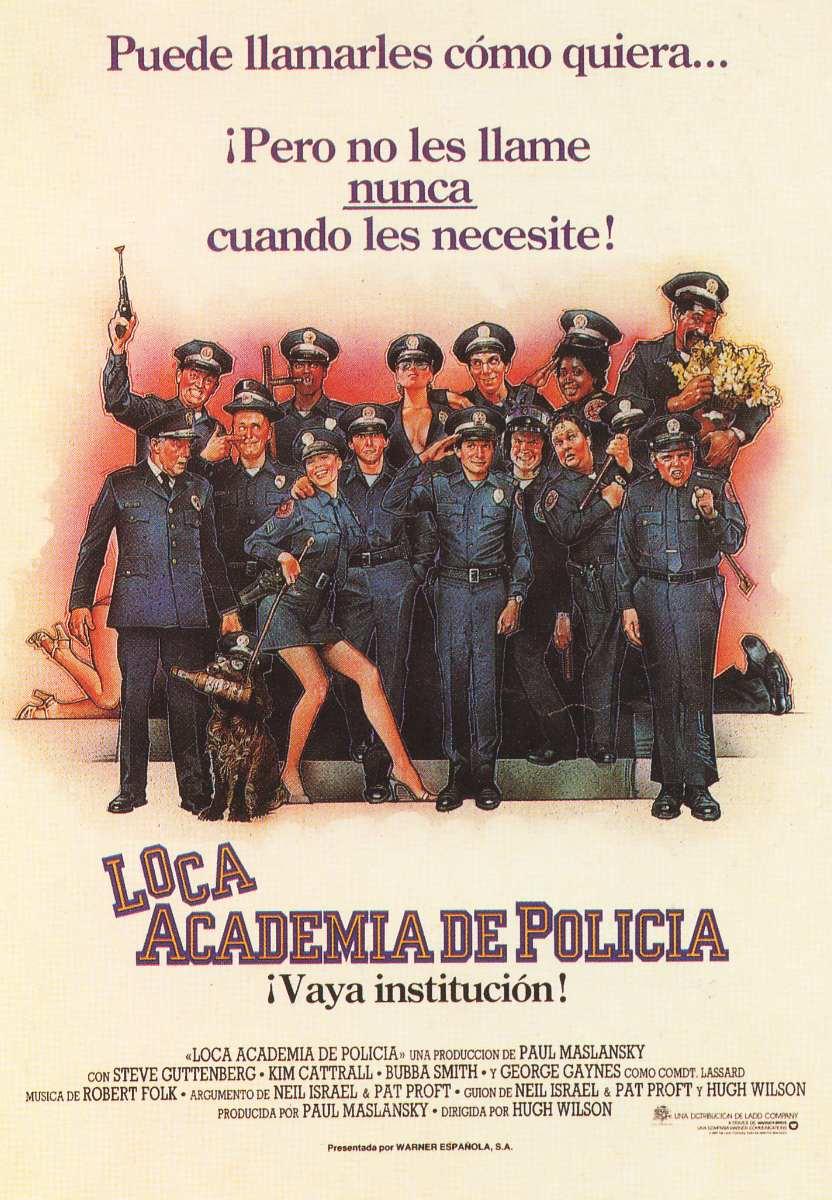 Que recuerdos !!La loca academia de policía..Ayer y Hoy