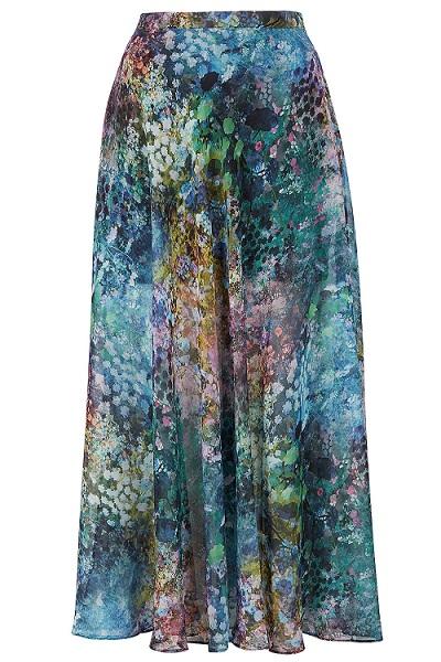Topshop floral skirts