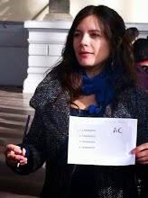 """Camila Vallejo marcará su voto con """"AC"""""""