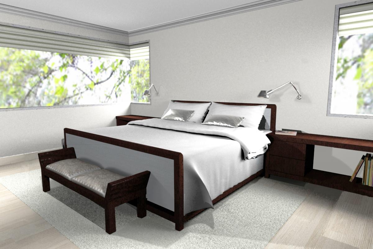 Estudio gl renders de dise o interiores para casa habitaci n for Interiores de diseno