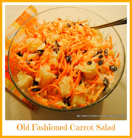 Old Fashioned Carrot Salad