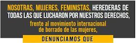 Manifiesto de la Alianza Contra el Borrado de las Mujeres