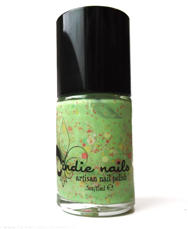 Jindie Nails Don't Get it Citrus Twisted, nails, floral, fruity, spring, summer