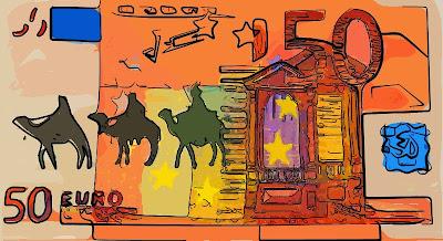 50 euros i els Reis d'Orient (Clara de Jaume)