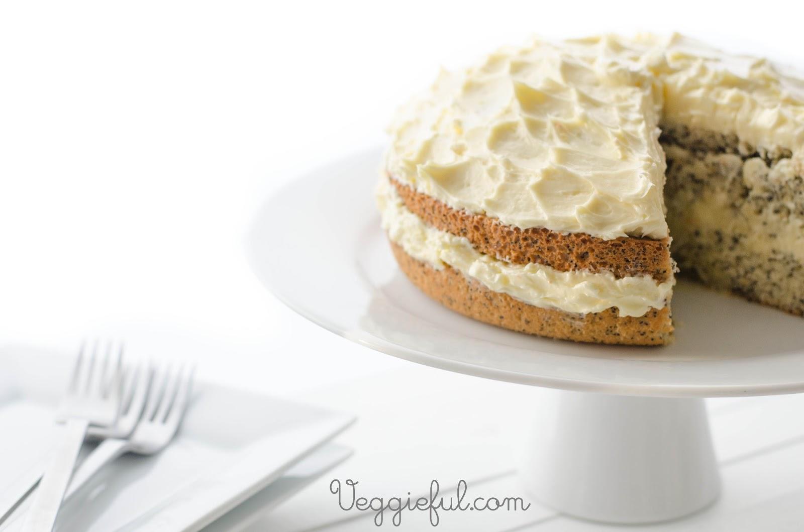 Flourless Orange Poppy Seed Cake