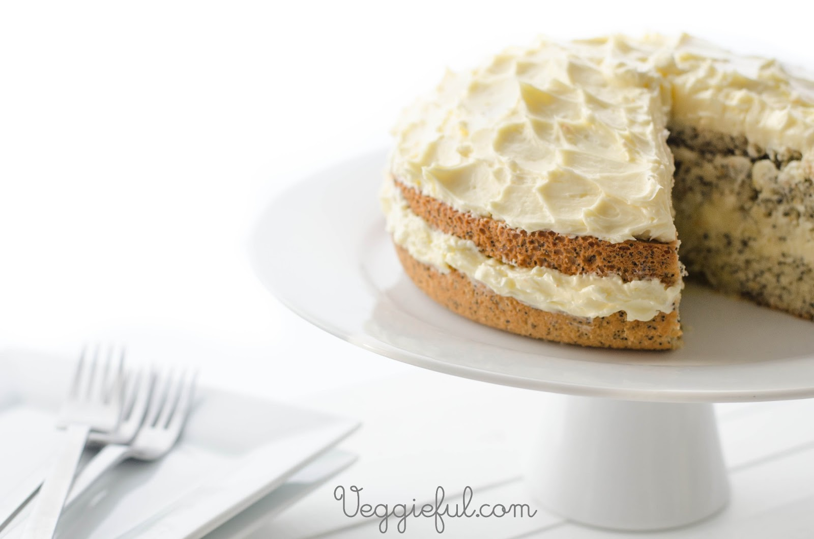Veggieful Vegan Orange And Poppy Seed Cake Recipe