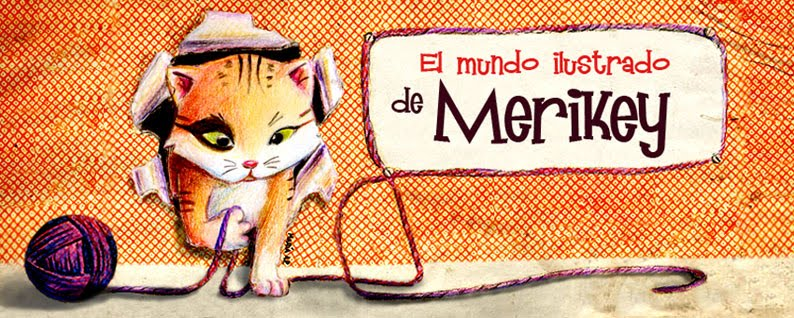 El mundo ilustrado de merikey