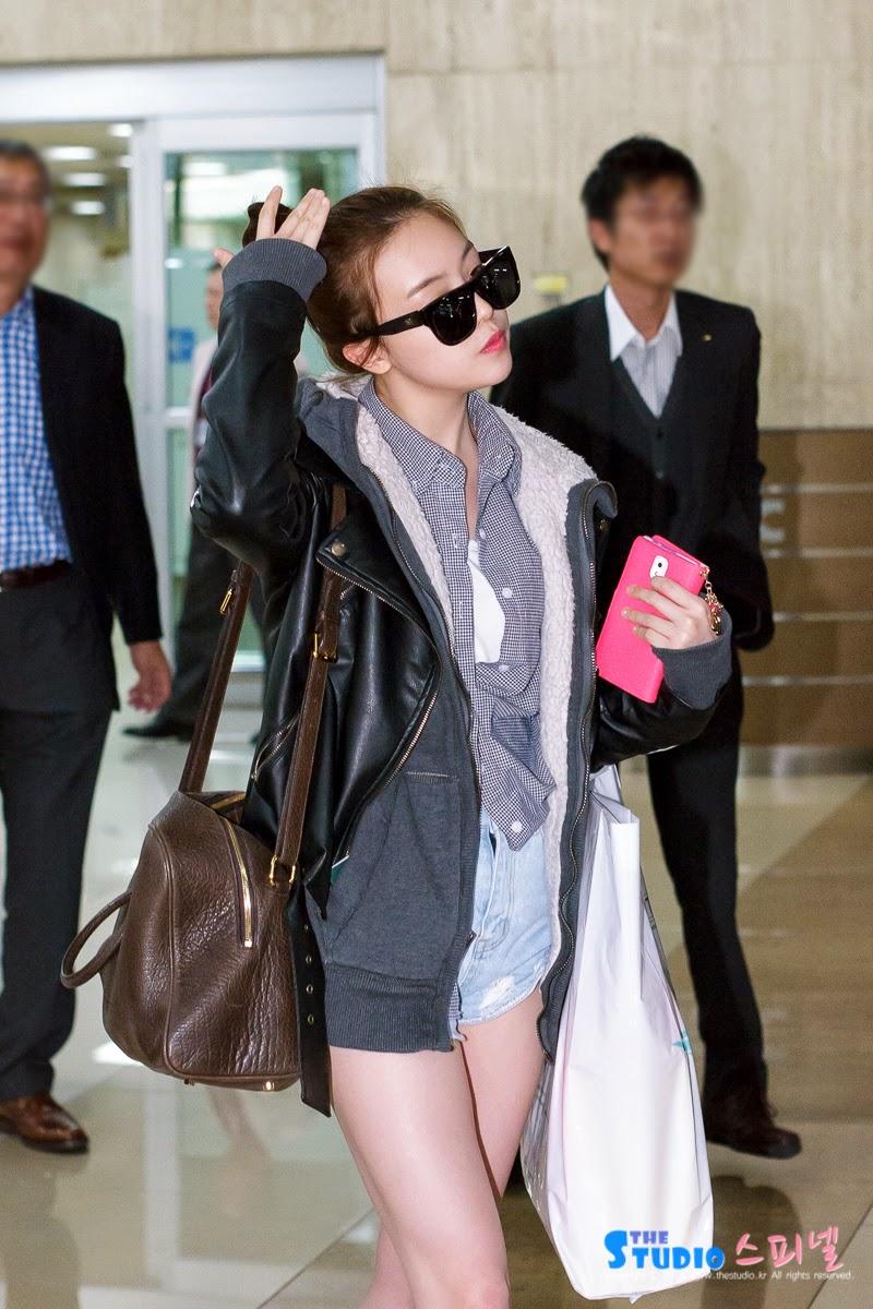 Airport Fashion Girl 39 S Day Minah Official Korean Fashion