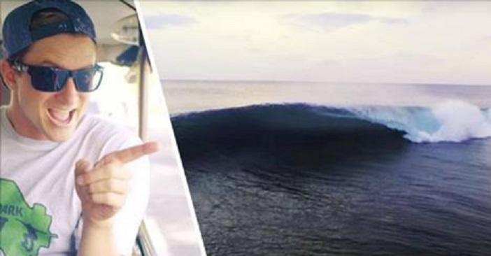 Alex Gray Found a Perfect, Empty Wave Through Instagram ...