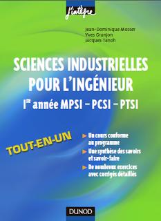 J'intègre : Sciences industrielles pour l'ingénieur 1e année MPSI-PCSI-PTSI