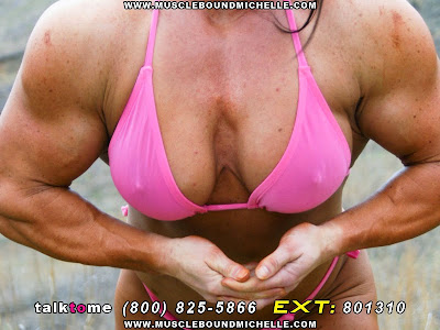 Female Bodybuilder Musclebound Michelle