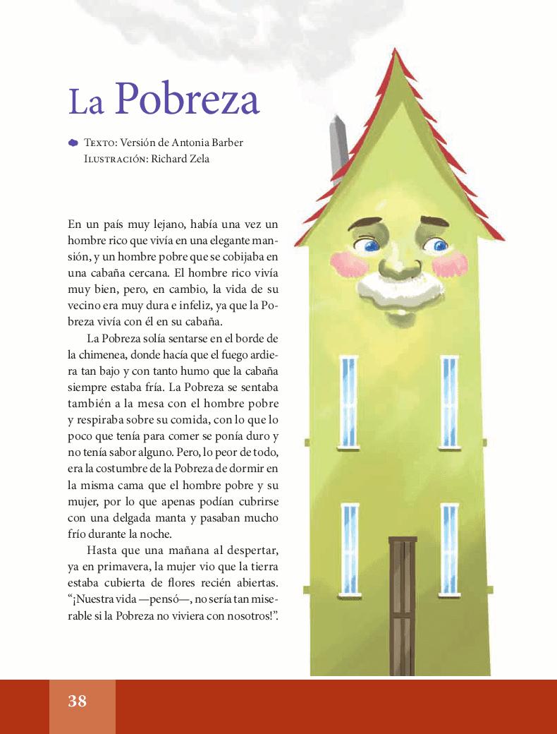 La pobreza - Español Lecturas 6to 2014-2015