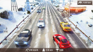 Screenshots of the Traffic: Need for risk and crash Illegal road racing for Android tablet, phone.