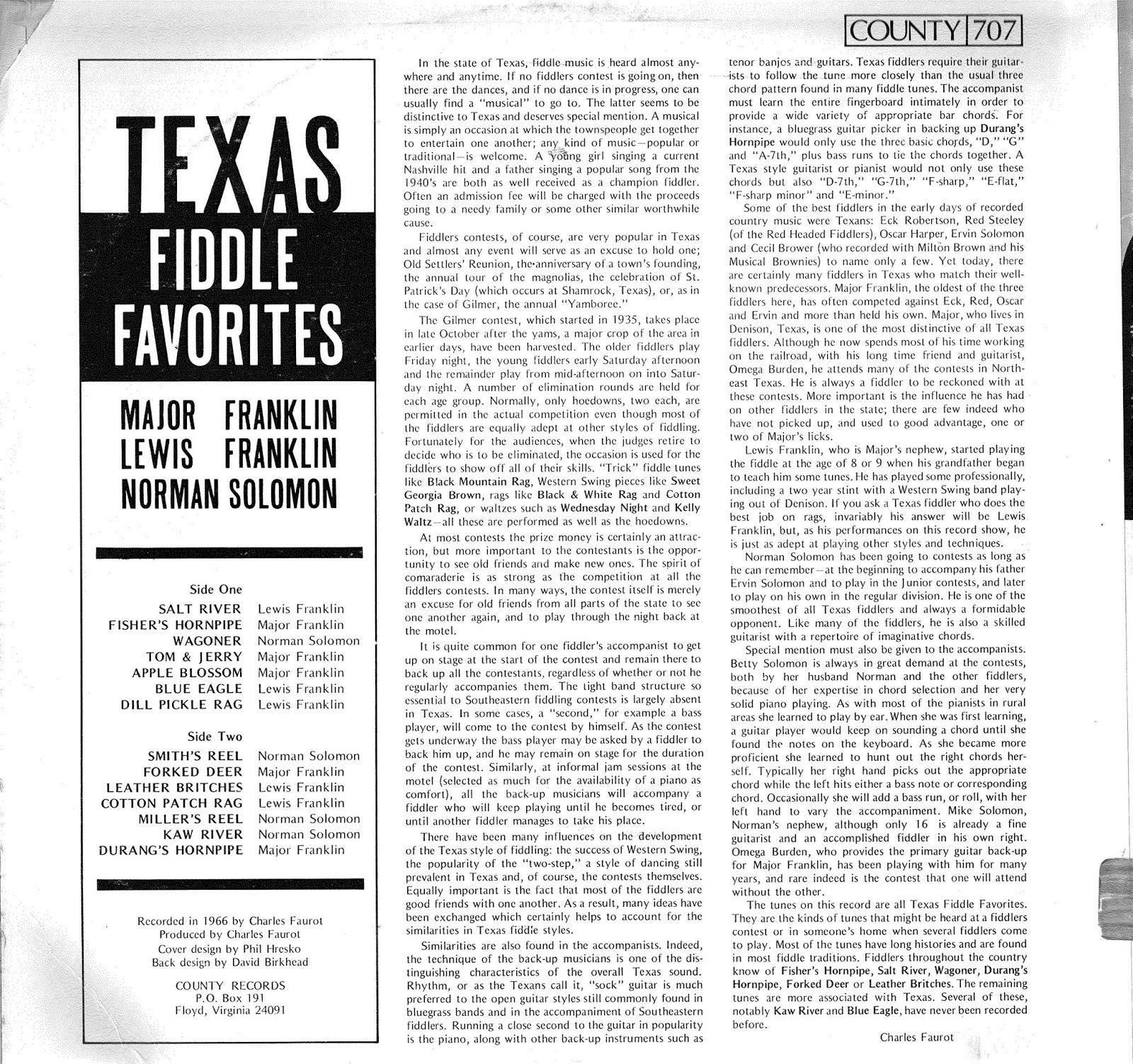 Texas Style Guitar Backup