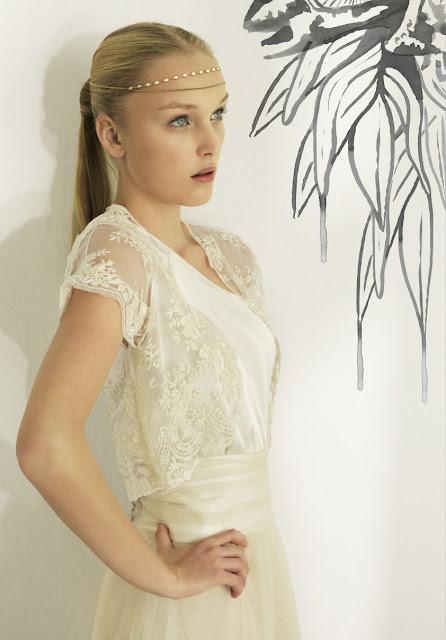 Vestido de novia vintage Otaduy