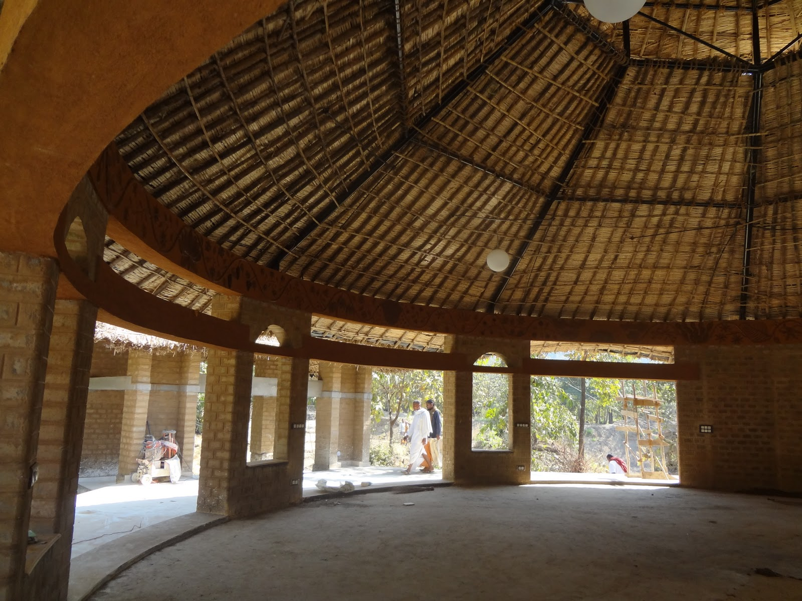 Biome Environmental Solutions Pvt Ltd Yoga Hall For