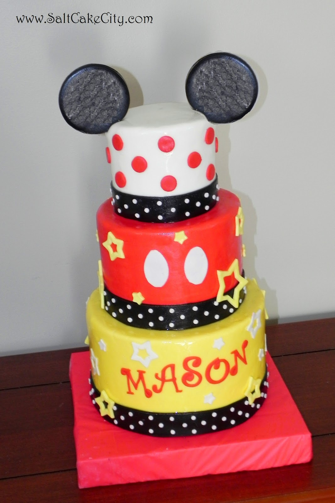 Salt Cake City 2 Mickey Mouse Birthday Cakes