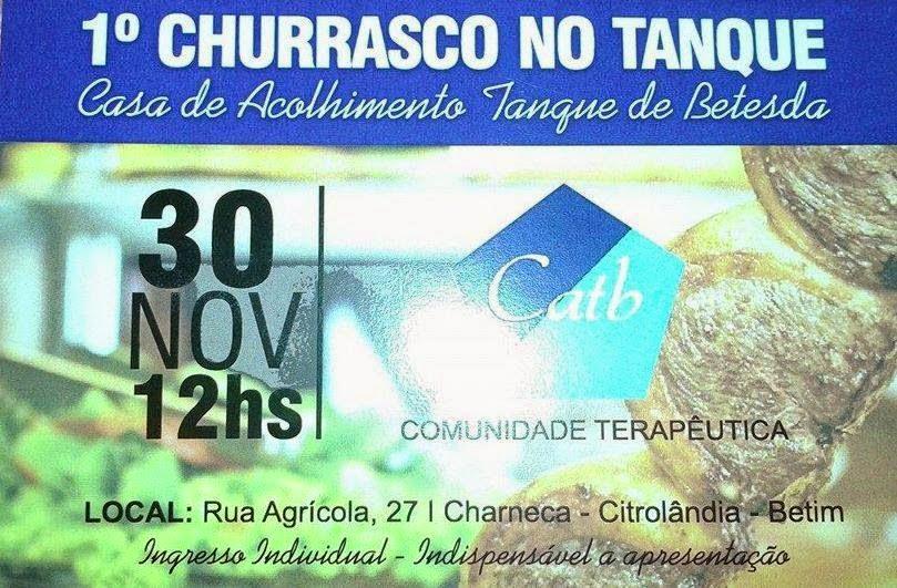 1º CHURRASCO NO TANQUE