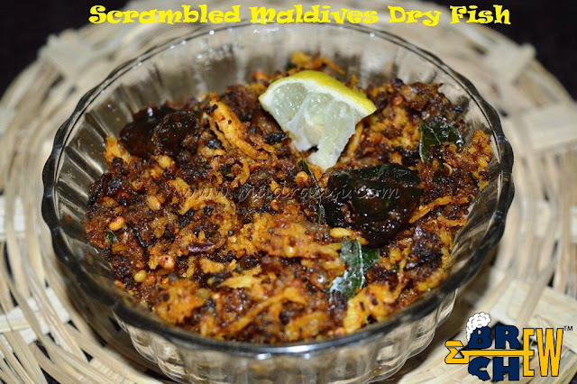 Scrambled Maldives Dry Fish Recipe