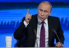 Presidente Putin asegura que Rusia saldrá de la crisis en dos años como máximo