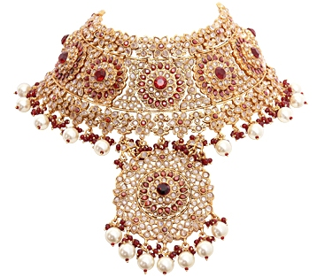 Pakistani gold jewellery