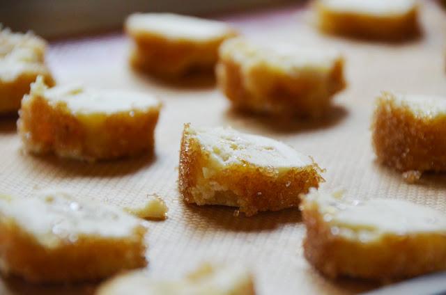 Lavender Burnt Sugar Sable Cookies | Cheesy Pennies