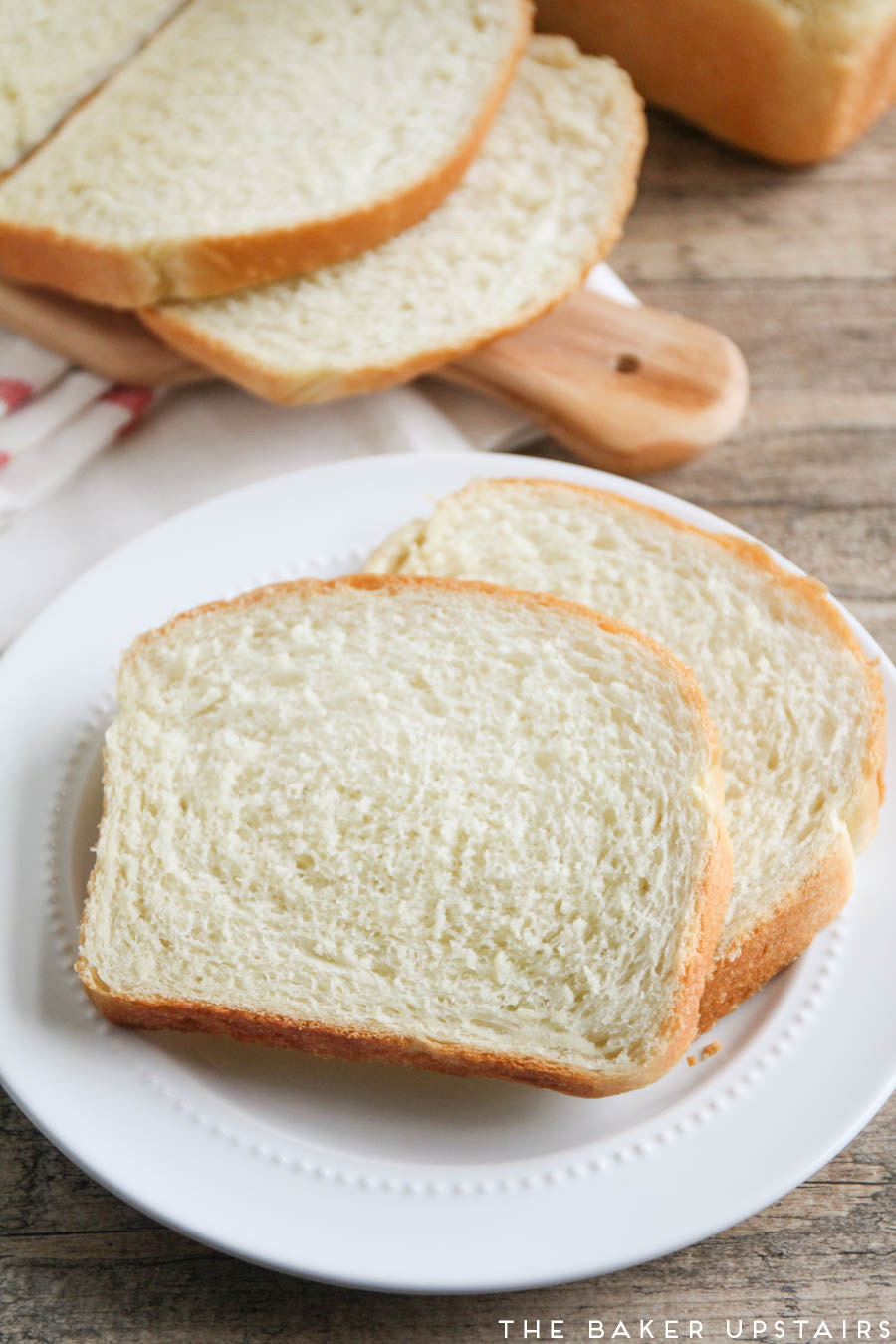 The Baker Upstairs: the best white sandwich bread