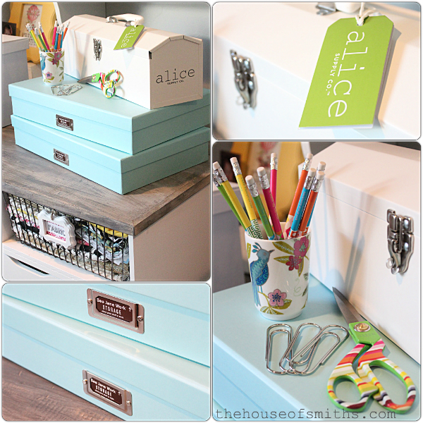 Office supplies all the pretty little things for Best diy home decor blogs